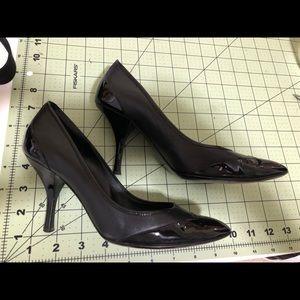 Salvatore Ferragamo Designer black heels 6